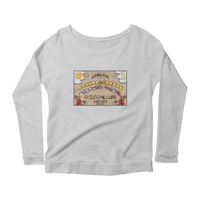 EMOJIA Women's Longsleeve Scoopneck  by Frankie hi-nrg mc & le magliette