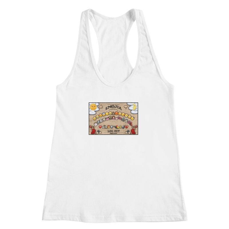 EMOJIA Women's Racerback Tank by Frankie hi-nrg mc & le magliette