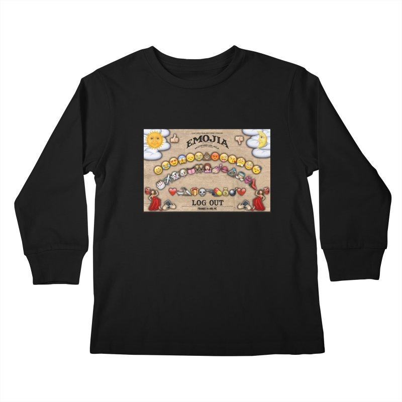 EMOJIA Kids Longsleeve T-Shirt by Frankie hi-nrg mc & le magliette