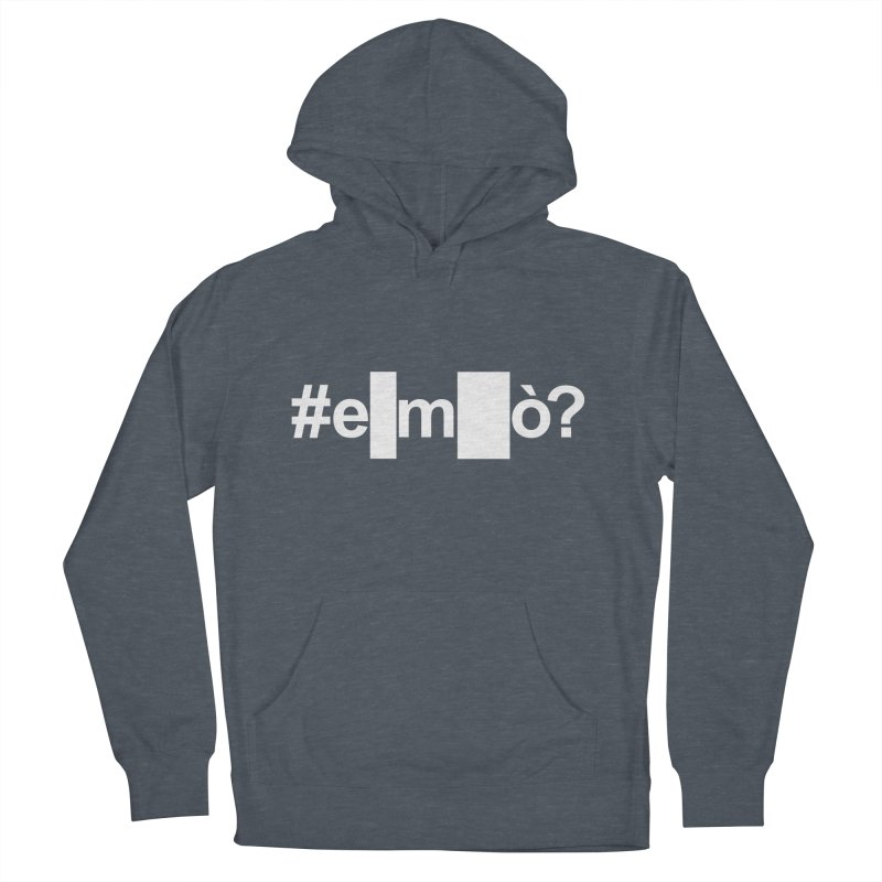#emò? Men's Pullover Hoody by Frankie hi-nrg mc & le magliette