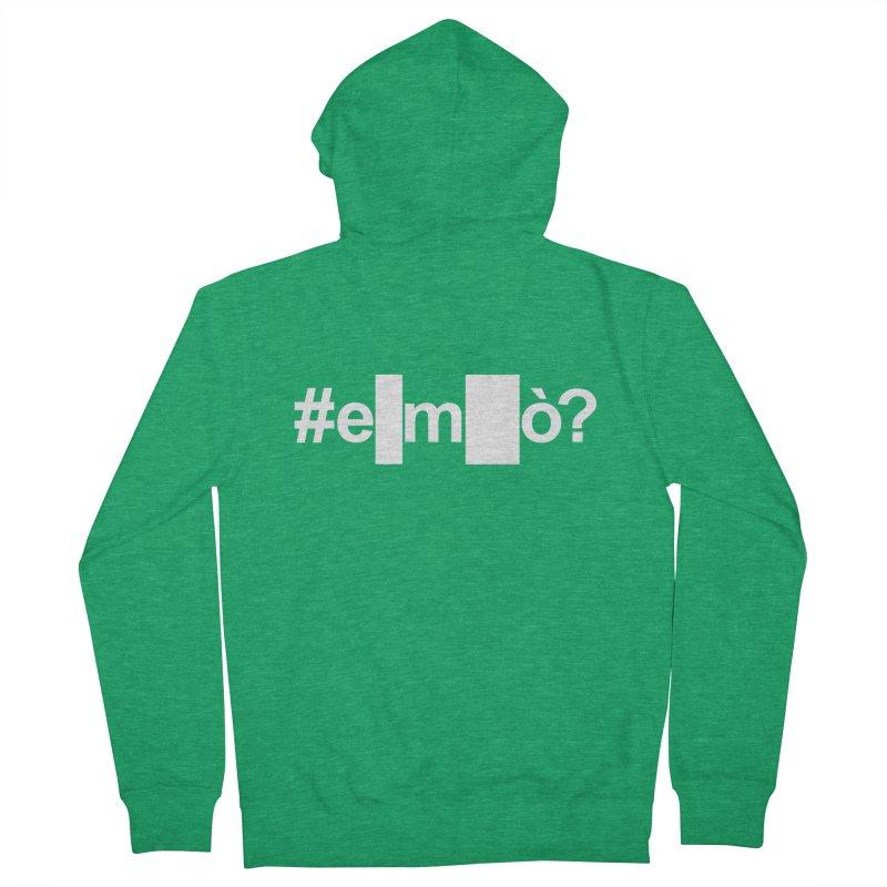 #emò? Men's Zip-Up Hoody by Frankie hi-nrg mc & le magliette