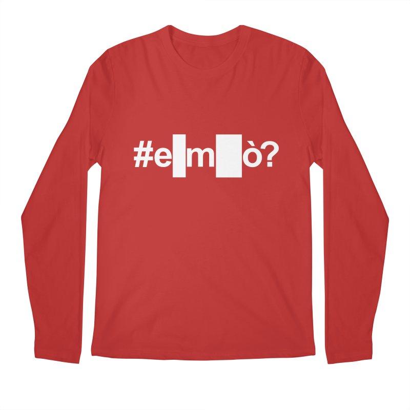 #emò? Men's Longsleeve T-Shirt by Frankie hi-nrg mc & le magliette