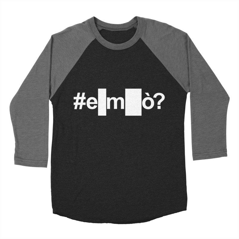 #emò? Men's Baseball Triblend T-Shirt by Frankie hi-nrg mc & le magliette