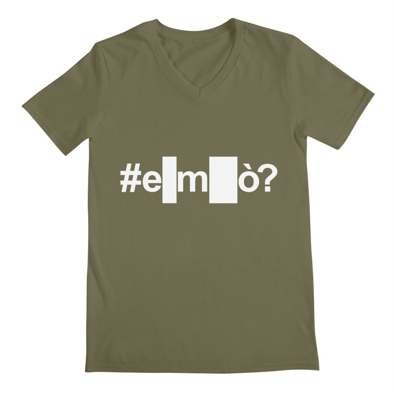 #emò? Men's V-Neck by Frankie hi-nrg mc & le magliette