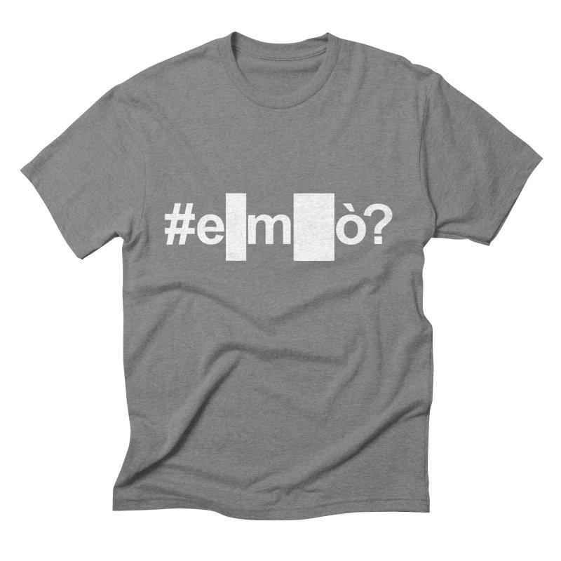 #emò? Men's Triblend T-shirt by Frankie hi-nrg mc & le magliette