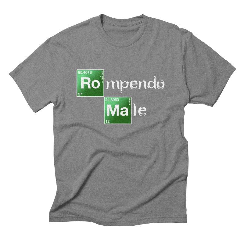 Breaking Bad Men's Triblend T-shirt by Frankie hi-nrg mc & le magliette