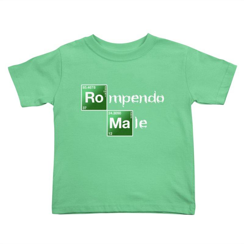Breaking Bad Kids Toddler T-Shirt by Frankie hi-nrg mc & le magliette