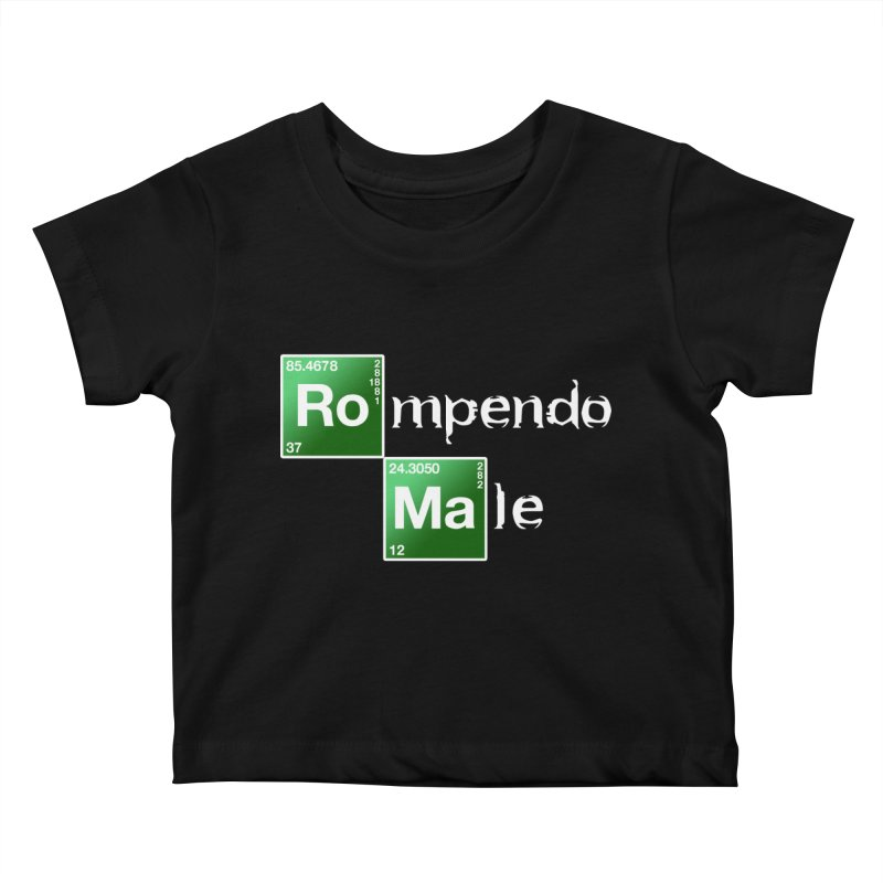 Breaking Bad Kids Baby T-Shirt by Frankie hi-nrg mc & le magliette