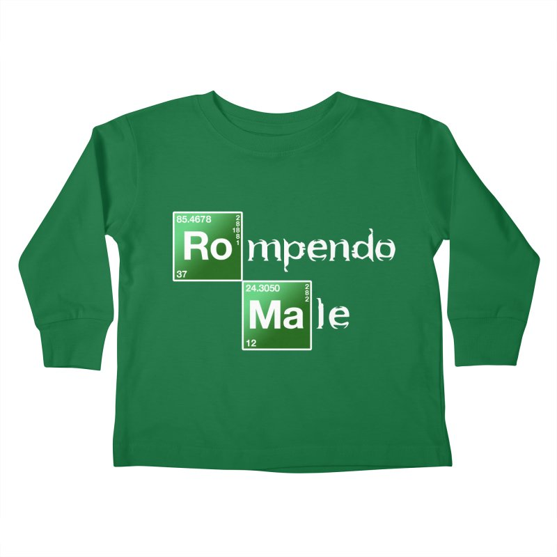 Breaking Bad Kids Toddler Longsleeve T-Shirt by Frankie hi-nrg mc & le magliette
