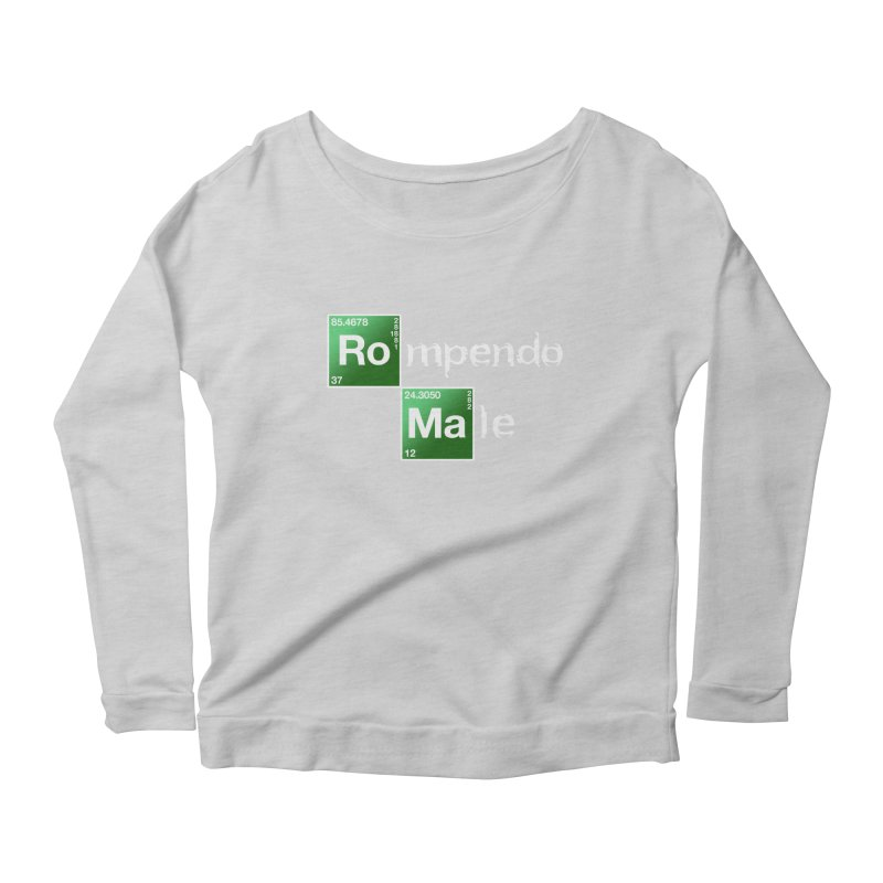 Breaking Bad Women's Longsleeve Scoopneck  by Frankie hi-nrg mc & le magliette