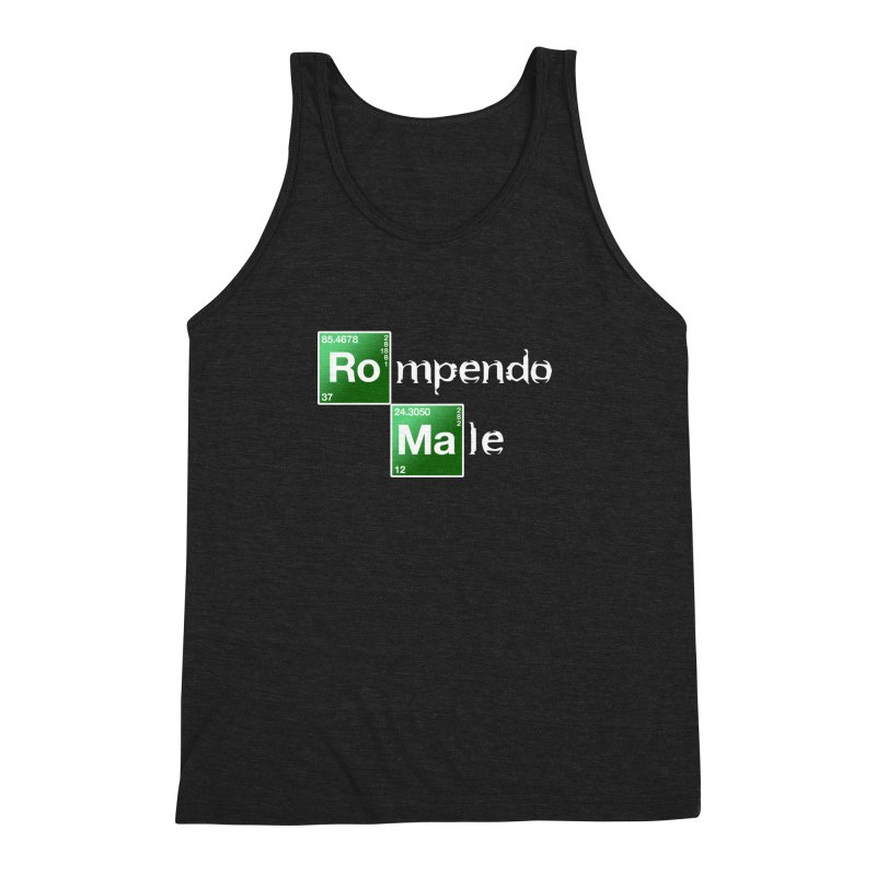 Breaking Bad Men's Triblend Tank by Frankie hi-nrg mc & le magliette