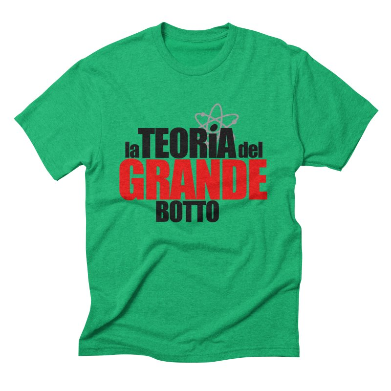 The Big Bang Theory Men's Triblend T-shirt by Frankie hi-nrg mc & le magliette