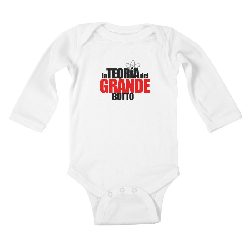 The Big Bang Theory Kids Baby Longsleeve Bodysuit by Frankie hi-nrg mc & le magliette