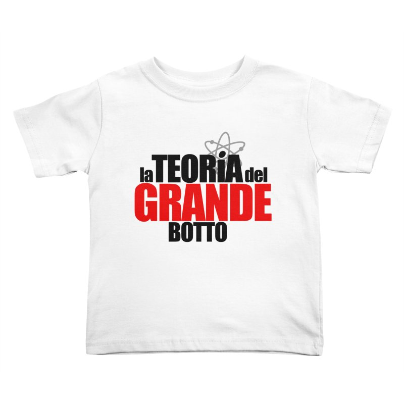The Big Bang Theory Kids Toddler T-Shirt by Frankie hi-nrg mc & le magliette