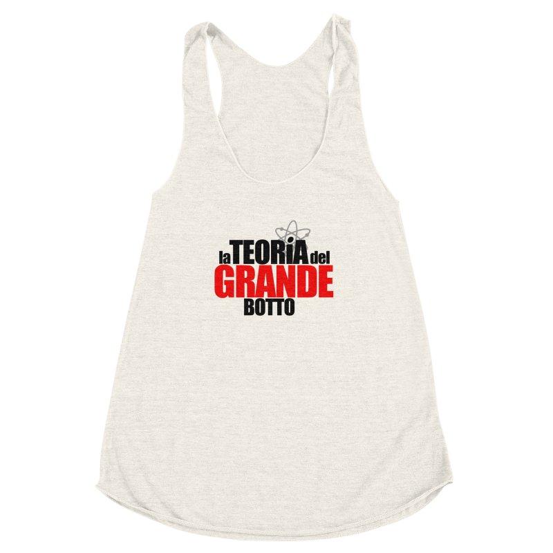 The Big Bang Theory Women's Racerback Triblend Tank by Frankie hi-nrg mc & le magliette