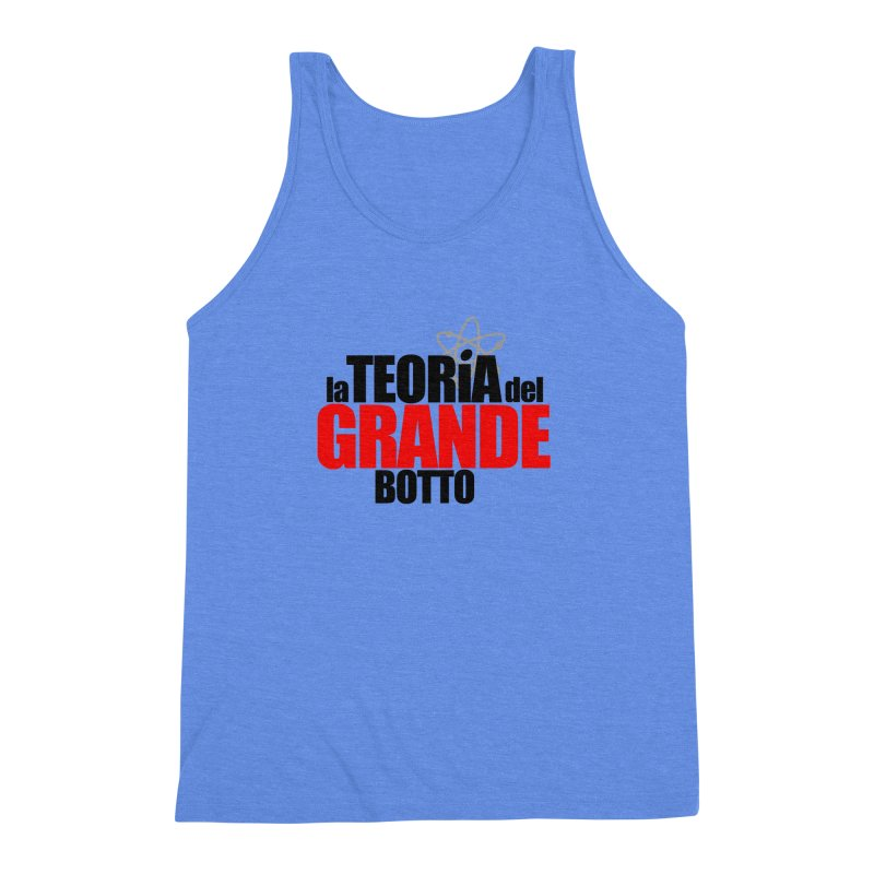 The Big Bang Theory Men's Triblend Tank by Frankie hi-nrg mc & le magliette