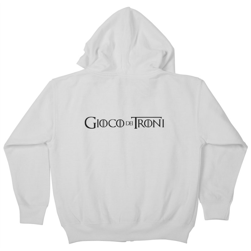 Game of Thrones Kids Zip-Up Hoody by Frankie hi-nrg mc & le magliette
