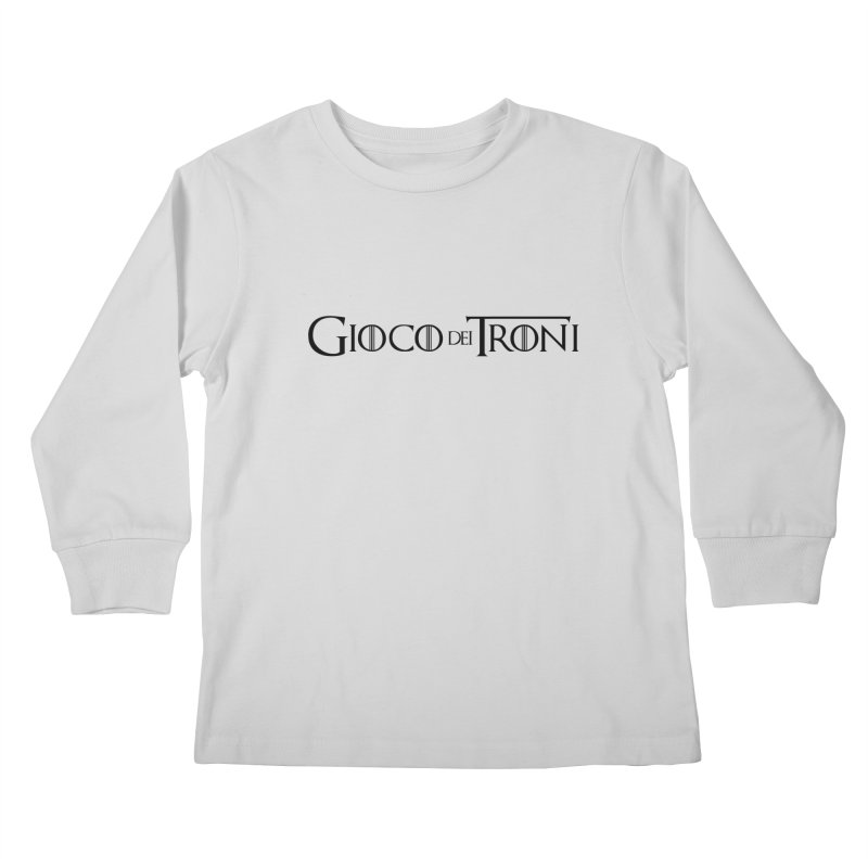 Game of Thrones Kids Longsleeve T-Shirt by Frankie hi-nrg mc & le magliette