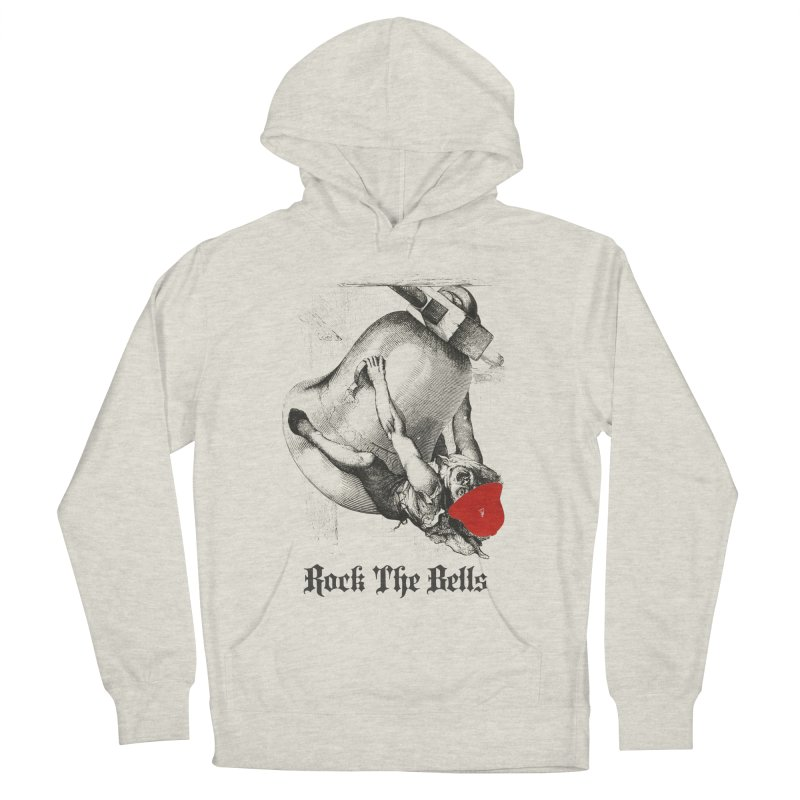 Rock The Bells Men's French Terry Pullover Hoody by Frankie hi-nrg mc & le magliette