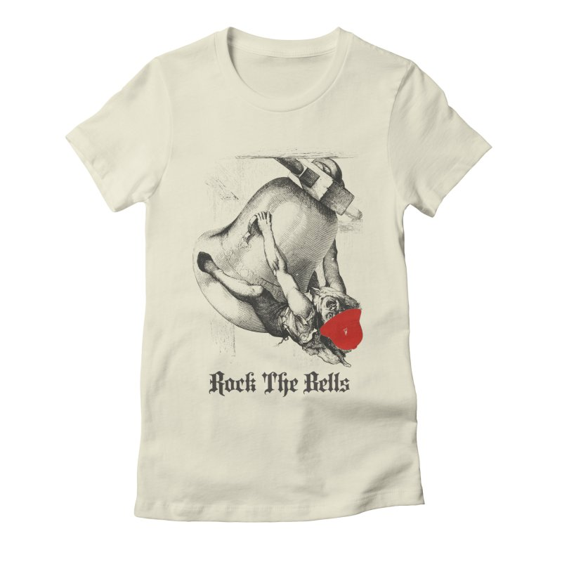 Rock The Bells Women's Fitted T-Shirt by Frankie hi-nrg mc & le magliette