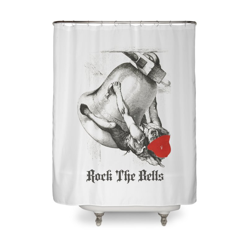 Rock The Bells Home Shower Curtain by Frankie hi-nrg mc & le magliette