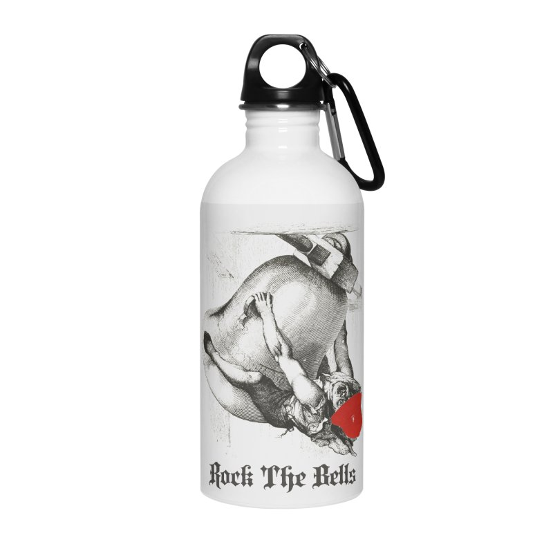 Rock The Bells Accessories Water Bottle by Frankie hi-nrg mc & le magliette