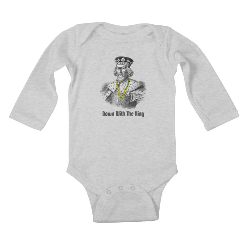 Down With The King Kids Baby Longsleeve Bodysuit by Frankie hi-nrg mc & le magliette
