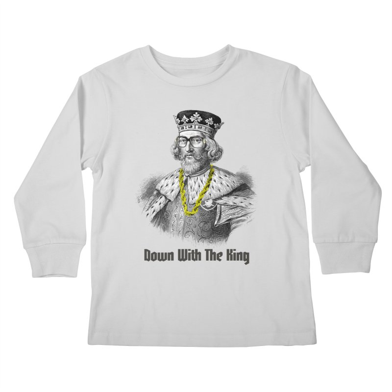 Down With The King Kids Longsleeve T-Shirt by Frankie hi-nrg mc & le magliette