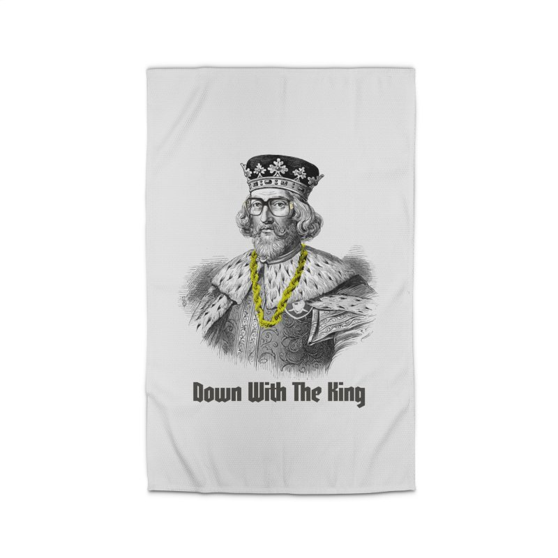 Down With The King Home Rug by Frankie hi-nrg mc & le magliette