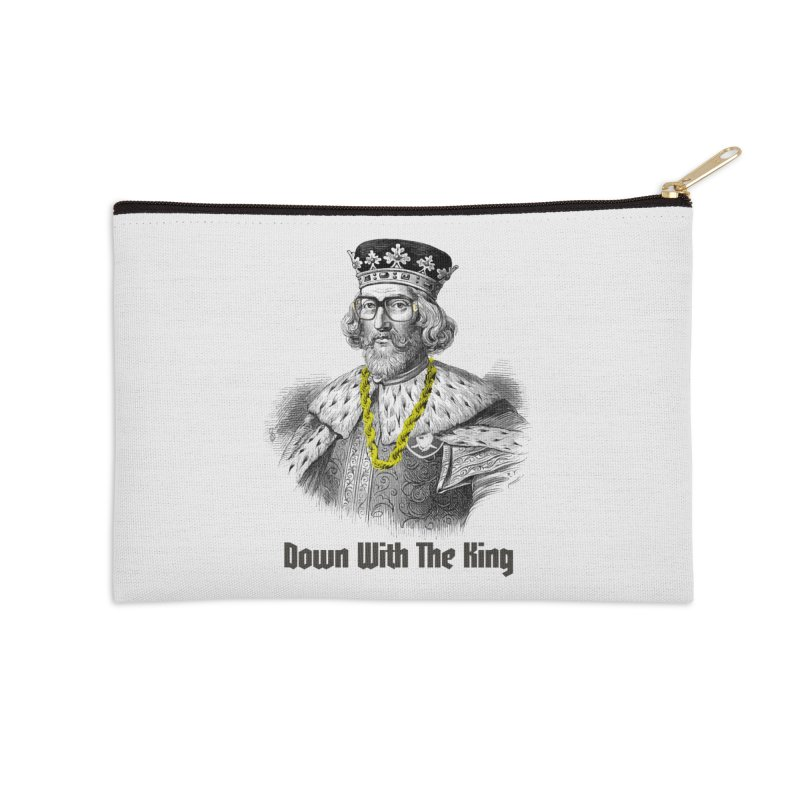Down With The King Accessories Zip Pouch by Frankie hi-nrg mc & le magliette