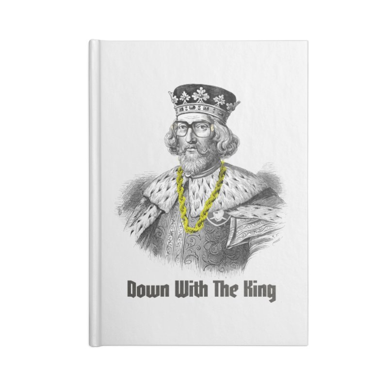 Down With The King Accessories Notebook by Frankie hi-nrg mc & le magliette