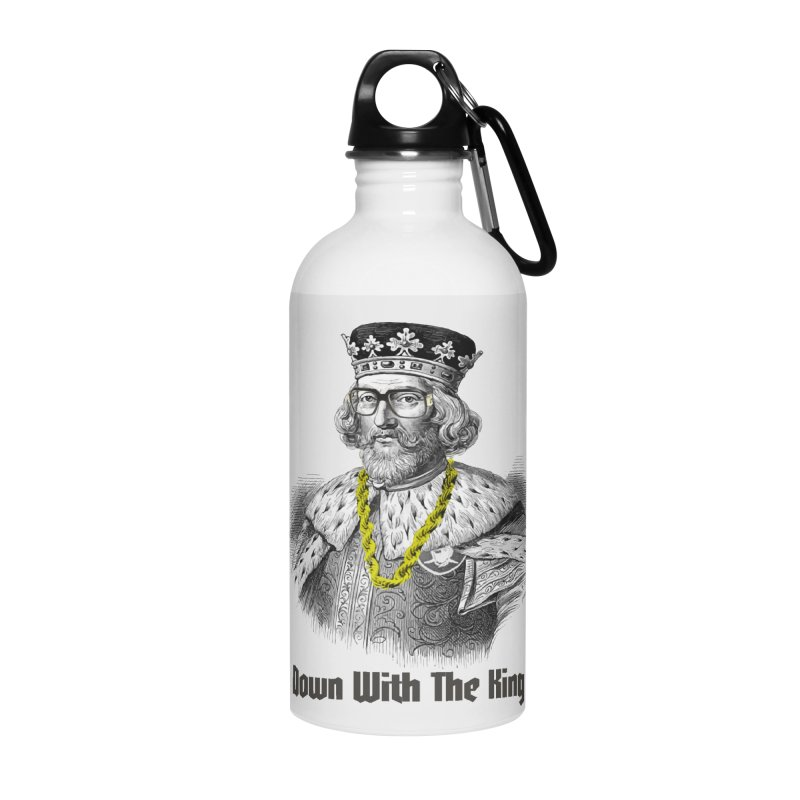 Down With The King Accessories Water Bottle by Frankie hi-nrg mc & le magliette