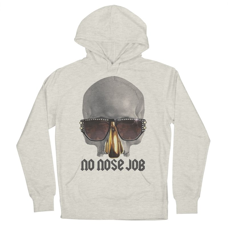 No Nose Job Men's French Terry Pullover Hoody by Frankie hi-nrg mc & le magliette