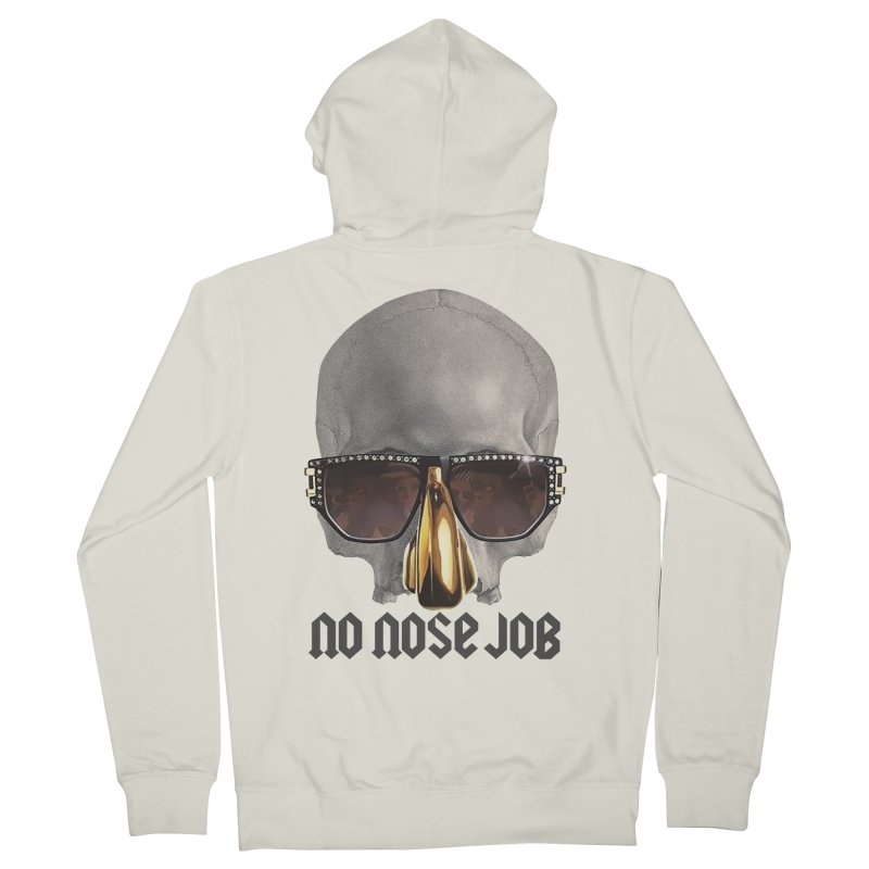 No Nose Job Men's Zip-Up Hoody by Frankie hi-nrg mc & le magliette