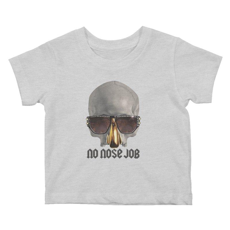 No Nose Job Kids Baby T-Shirt by Frankie hi-nrg mc & le magliette