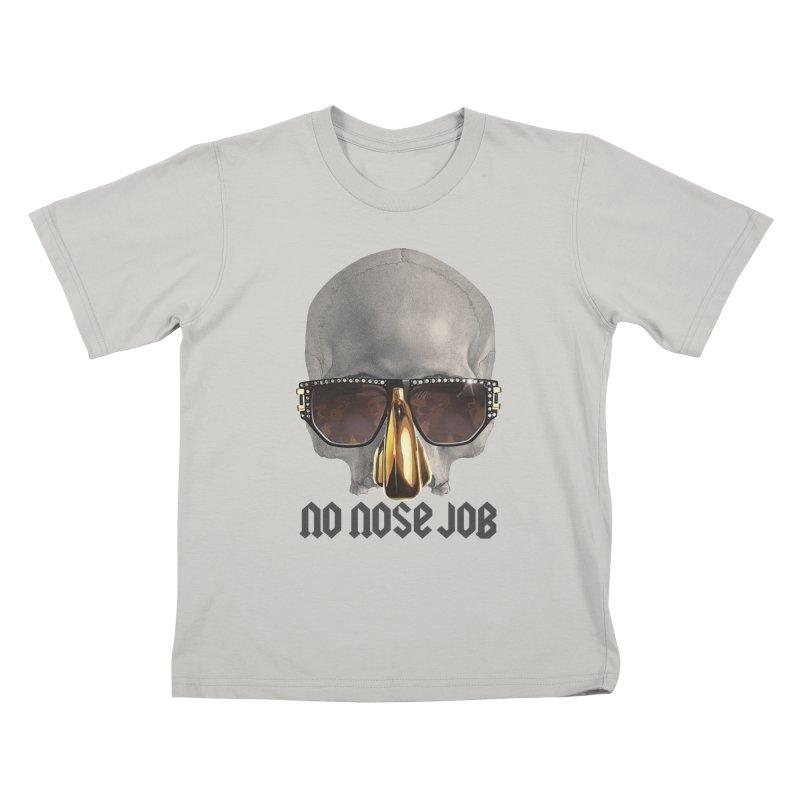 No Nose Job Kids T-Shirt by Frankie hi-nrg mc & le magliette