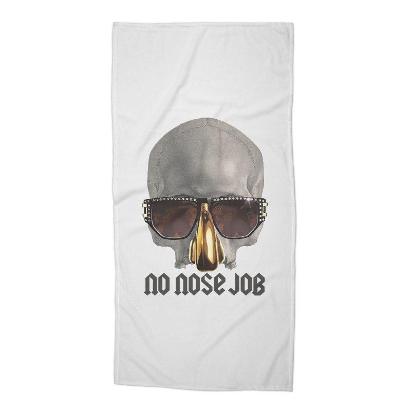 No Nose Job Accessories Beach Towel by Frankie hi-nrg mc & le magliette