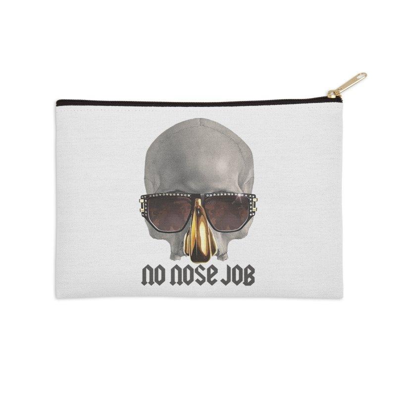 No Nose Job Accessories Zip Pouch by Frankie hi-nrg mc & le magliette