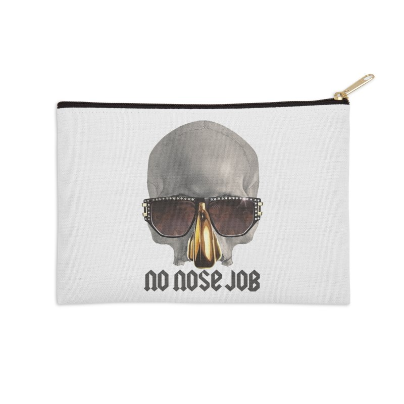 No Nose Job Accessories Zip Pouch by Frankie hi-nrg mc & le magliette