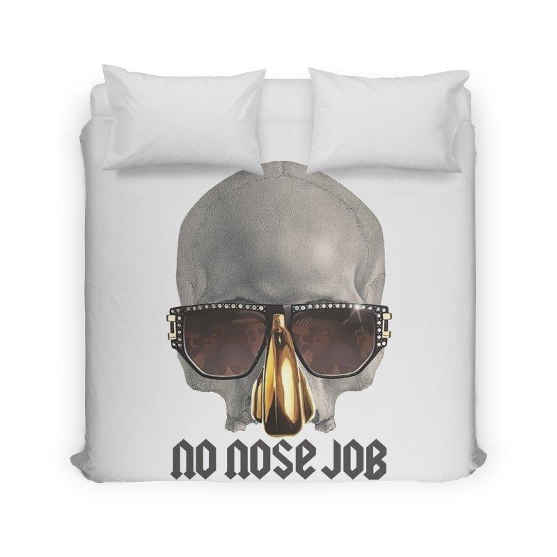 No Nose Job Home Duvet by Frankie hi-nrg mc & le magliette