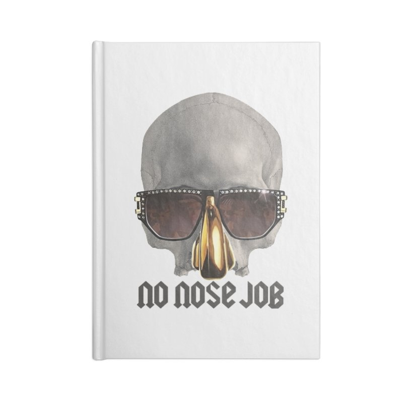 No Nose Job Accessories Notebook by Frankie hi-nrg mc & le magliette