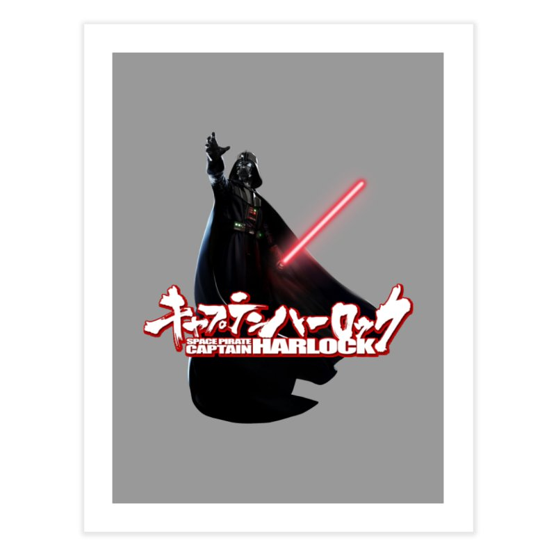 Capitan Vader Home Fine Art Print by Frankie hi-nrg mc & le magliette