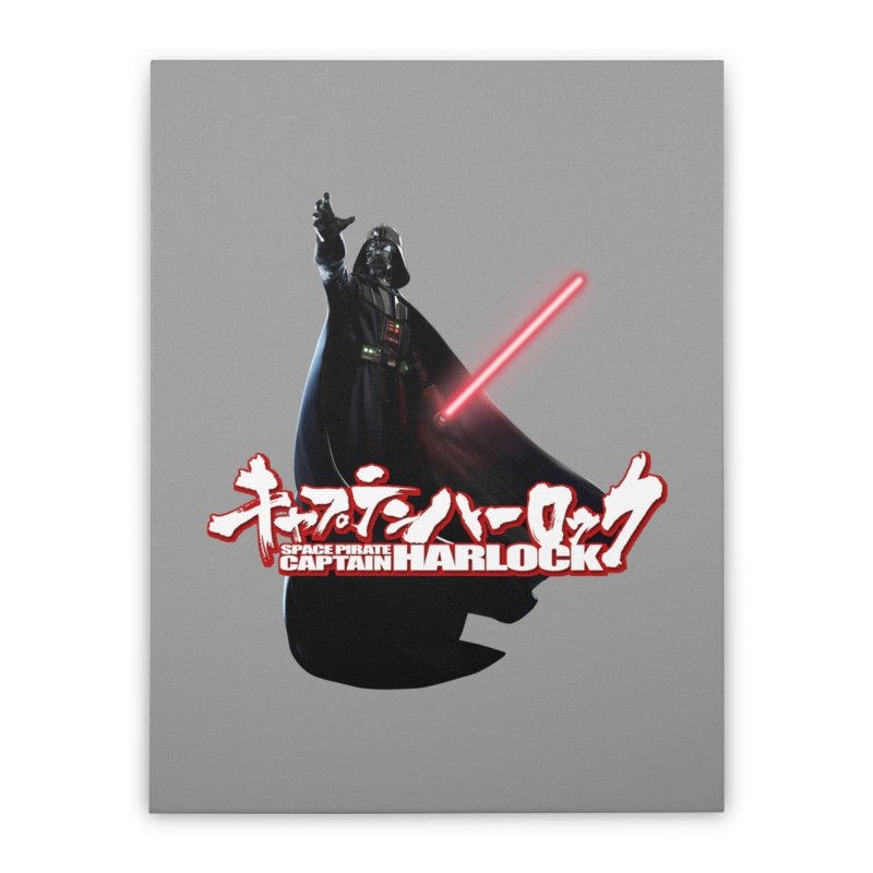 Capitan Vader Home Stretched Canvas by Frankie hi-nrg mc & le magliette