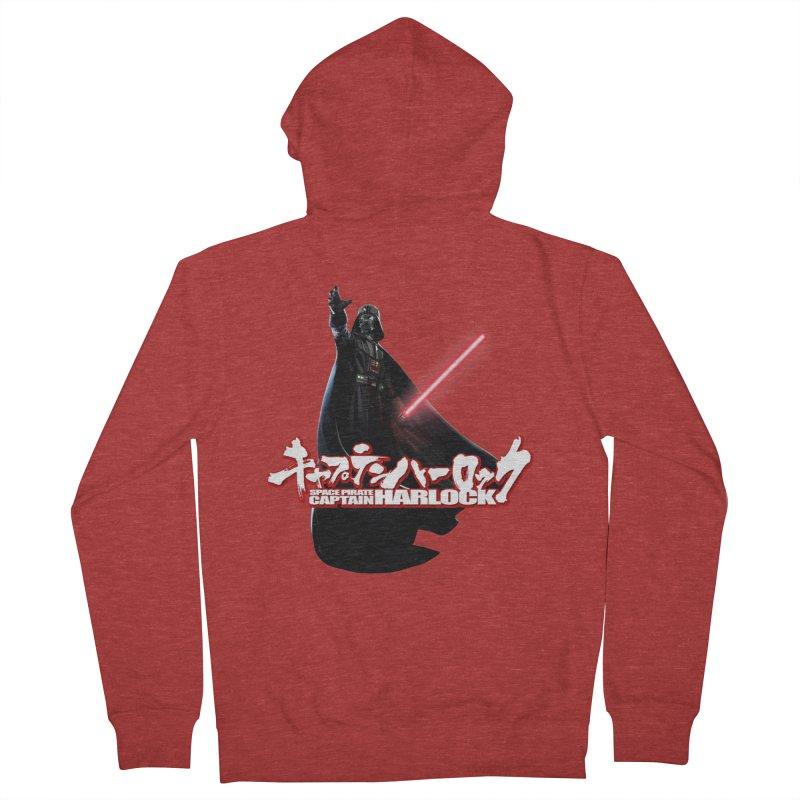 Capitan Vader Men's Zip-Up Hoody by Frankie hi-nrg mc & le magliette
