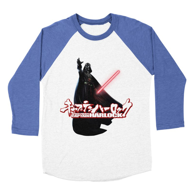 Capitan Vader Women's Baseball Triblend Longsleeve T-Shirt by Frankie hi-nrg mc & le magliette