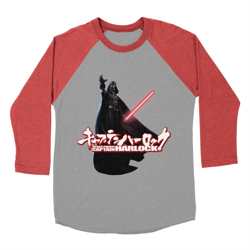 Capitan Vader Men's Baseball Triblend T-Shirt by Frankie hi-nrg mc & le magliette