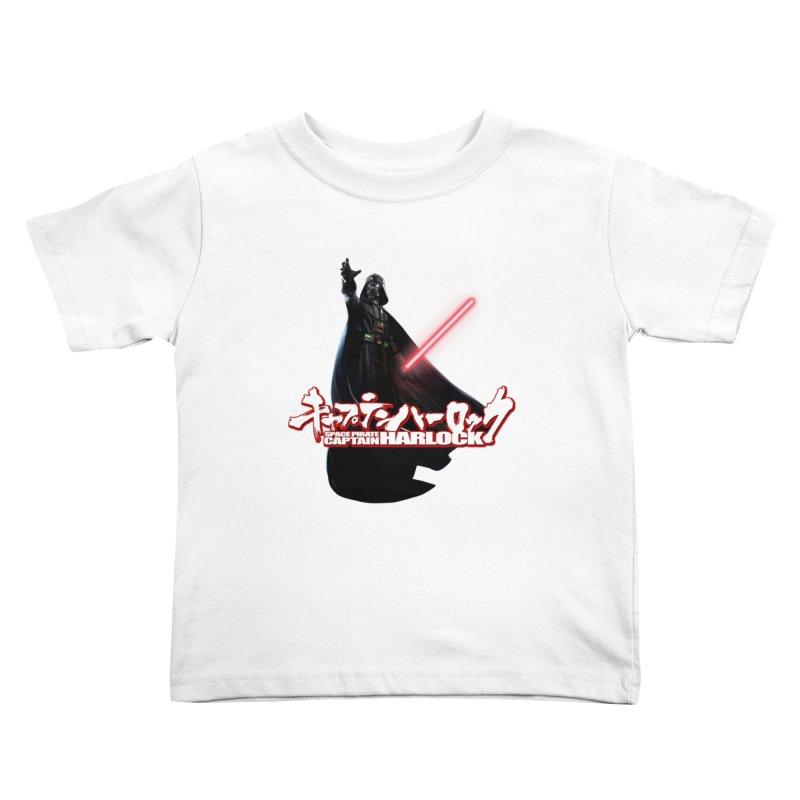 Capitan Vader Kids Toddler T-Shirt by Frankie hi-nrg mc & le magliette