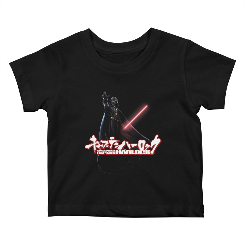 Capitan Vader Kids Baby T-Shirt by Frankie hi-nrg mc & le magliette
