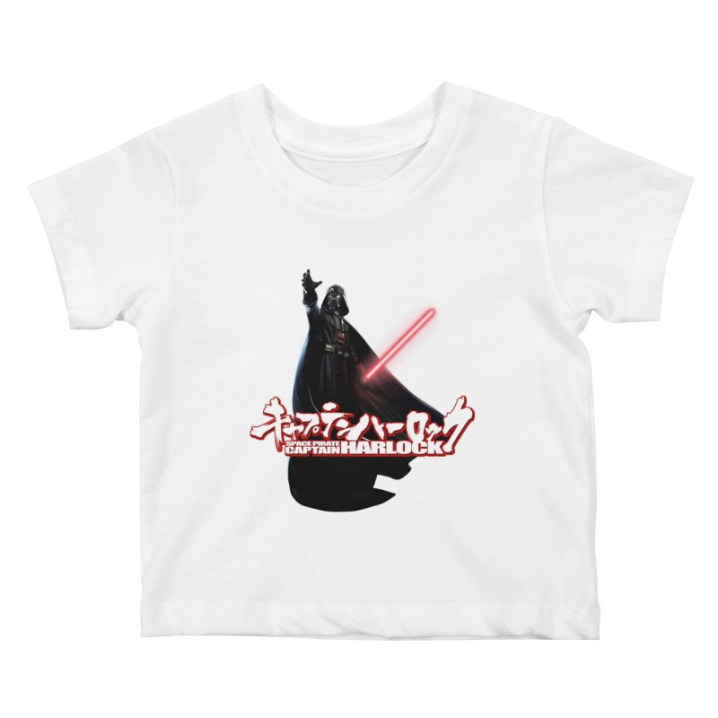 Capitan Vader Kids Baby T-Shirt by Frankie hi-nrg mc & le magliette