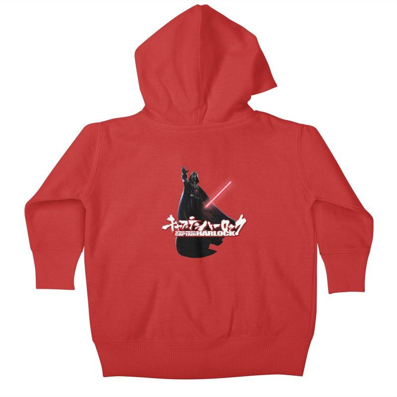 Capitan Vader Kids Baby Zip-Up Hoody by Frankie hi-nrg mc & le magliette